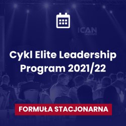 Klub uczestników Elite Leadership Program: edycja 2021/22 Formuła stacjonarna, Warszawa