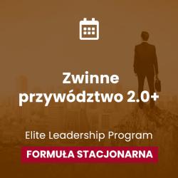 """Konferencja """" Zwinne przywództwo 2.0+ """"  Formuła stacjonarna, 2 grudnia 2021 Gość specjalny: Justin Maciejewski"""