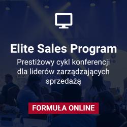 Klub uczestników Elite Sales Program: edycja 2021 ONLINE