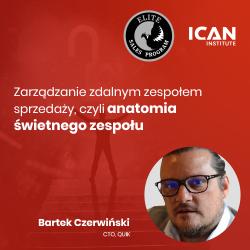 Nagranie z konferencji ESP Bartka Czerwińskiego: Zarządzanie zespołem sprzedaży, czyli anatomia świetnego zespołu