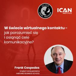 Nagranie z konferencji ESP prof. Franka Cespedesa: W świecie wirtualnego kontaktu