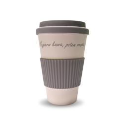 Kubek EKO CUP Najpierw kawa, potem reszta